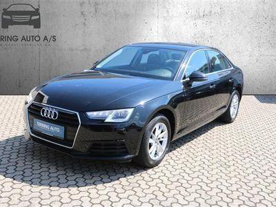 brugt Audi A4 1,4 TFSI 150HK 6g - Personbil - Sort
