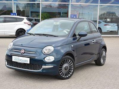brugt Fiat 500 0,9 Beauty Blue 80HK 3d