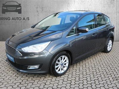 brugt Ford C-MAX 1,0 EcoBoost Titanium 125HK 6g - Personbil - gråmetal