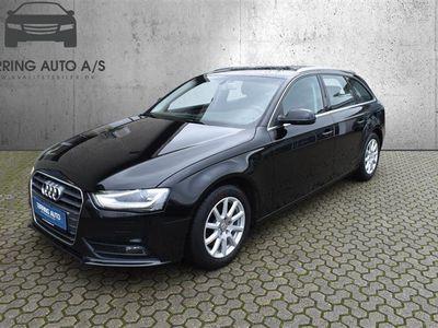 brugt Audi A4 2,0 TDI 136HK Stc - Personbil - sortmetal