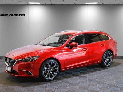käytetty Mazda 6 2,2 Sky-D 150 Optimum stc. aut.