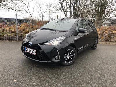 brugt Toyota Yaris 1,5 B/EL H3 Smartpakke E-CVT 100HK 5d Trinl. Gear