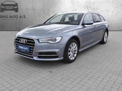 brugt Audi A6 Avant 2,0 TDI Ultra S Tronic 190HK Stc 7g Aut. - Personbil - Gråmetal