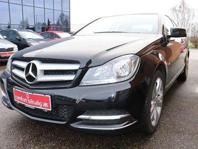 brugt Mercedes C180 1,8 Coupé BE