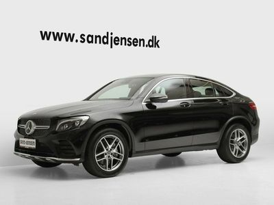 brugt Mercedes GLC220 d 2,2 Night Edition Coupé aut. 4-M
