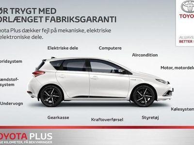 brugt Toyota Auris Touring Sports 1,2 T T2 Style Multidrive S 116HK Stc 6g Aut.