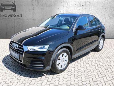 brugt Audi Q3 2,0 TDI 150HK 5d 6g - Personbil - sortmetal