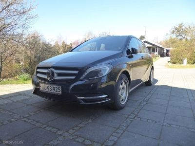 usado Mercedes B200 1,6 BlueEfficiency 156HK 6g Aut.