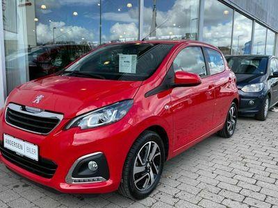 brugt Peugeot 108 1,0 e-Vti Allure+ 72HK 5d