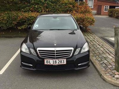 brugt Mercedes E220 220 CDI BlueEFFICIENCY Sedan 7G-TRONIC PLUS 2,1