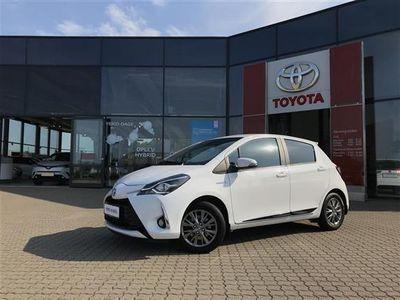 brugt Toyota Yaris Hybrid 1,5 B/EL Exclusive E-CVT 100HK 5d Trinl. Gear