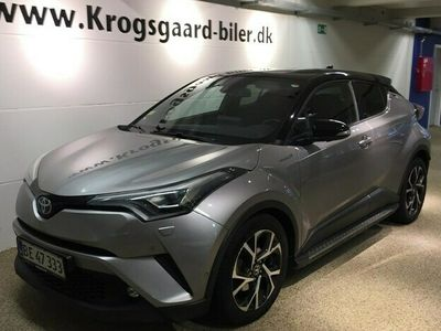 brugt Toyota C-HR 18 B/EL C-ULT Smart - Sound - LED Multidrive S 122HK 5d Aut.