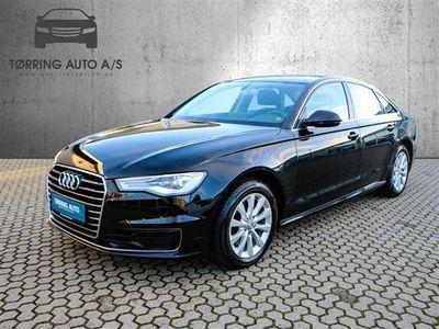 brugt Audi A6 1,8 T FSI Ultra S Tronic 190HK 7g Aut. - Personbil - sort