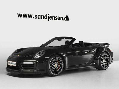 brugt Porsche 911 Turbo Cabriolet 3,8 PDK