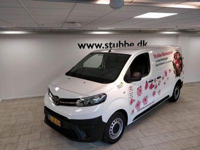 brugt Toyota Proace Medium 2,0 D Comfort 120HK Van 6g B Bliv ringet opSkriv til os