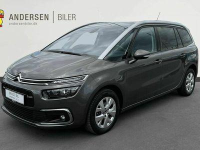 brugt Citroën C4 SpaceTourer Grand1,6 Blue HDi Intensive+ EAT6 start/stop 120HK 6g Aut.