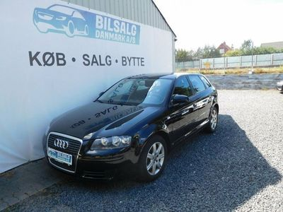 brugt Audi A3 Sportback 1,4 TFSi Attraction