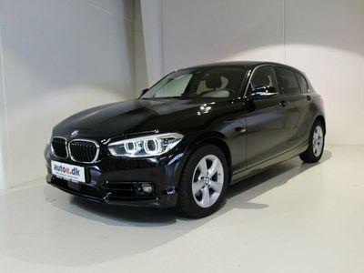 used BMW 120 d 2,0 aut.