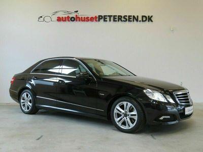 brugt Mercedes E350 5 CGi Avantgarde aut. BE