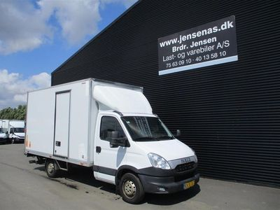 brugt Iveco Daily ALUKASSE/LIFT 2,3 D 35S13, 6-g 126HK Ladv./Chas. 2013
