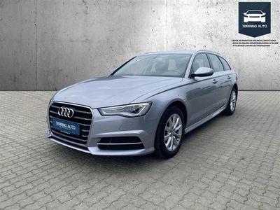 brugt Audi A6 Avant 3,0 TDI S Tronic 218HK Stc 7g Aut. - Personbil - Grålys