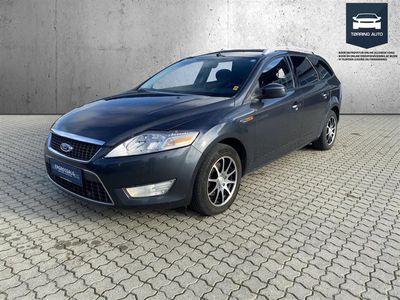 brugt Ford Mondeo 2,0 TDCi DPF Trend 140HK Stc 6g - Personbil - Mørkblå