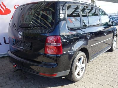 brugt VW Touran 2,0 TDI DPF Highline 7 personers DSG 170HK