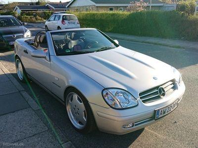 usata Mercedes SLK230 2,3 Kompressor 193HK Cabr.
