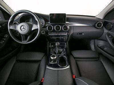 brugt Mercedes C200 2,0 AMG Line