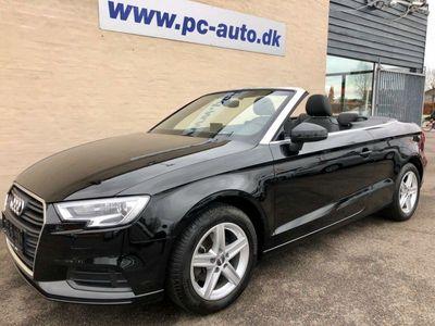 brugt Audi A3 Cabriolet 1,4 TFSi 116