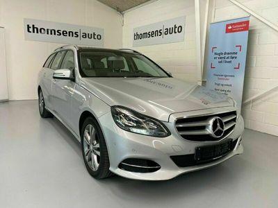 brugt Mercedes E220 2 CDi AMG Line stc. aut.