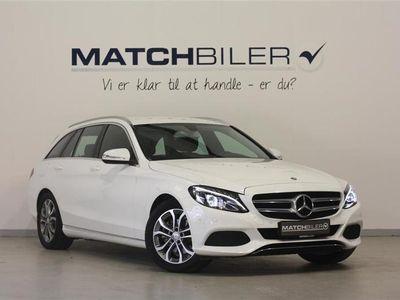brugt Mercedes C220 2,1 Bluetec Avantgarde 7G-Tronic Plus 170HK Stc