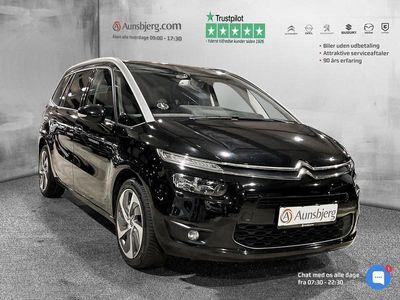 brugt Citroën Grand C4 Picasso 2,0 Blue HDi Exclusive EAT6 start/stop 150HK 6g Aut.