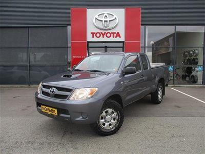 brugt Toyota HiLux Extra Cab 2,5 D-4D m/Lad 4x4 120HK Pick-Up