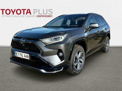 brugt Toyota RAV4 Plug-in 2,5 Plugin-hybrid H3 Premium AWD 306HK 5d 6g Aut.
