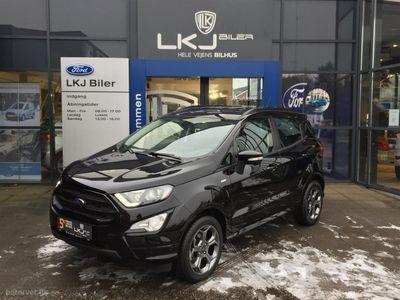 brugt Ford Ecosport 1,0 EcoBoost ST-Line Start/Stop 140HK 5d