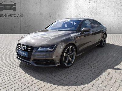 brugt Audi A7 Sportback 3,0 biturbo TDI Quattro Tiptr. 313HK 4d 8g Aut. - Personbil - Champm