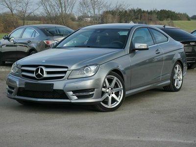 brugt Mercedes C220 2,2 CDi AMG Line Coupé aut. BE