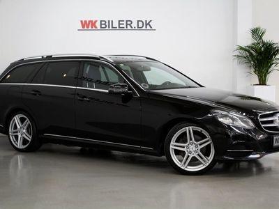 brugt Mercedes E350 0 BlueTEC Elegance stc. aut.
