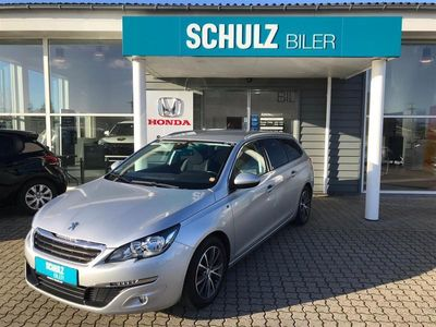 brugt Peugeot 308 SW 1,6 Blue e-HDI Style 120HK Stc 6g 1,6