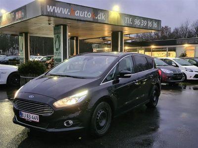 brugt Ford S-MAX 1,5 EcoBoost Titanium 160HK 6g