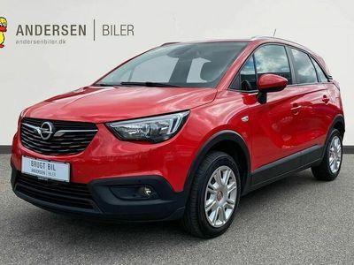 brugt Opel Crossland X 1,2 T Excite Start/Stop 110HK 5d 6g Aut.