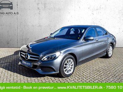 brugt Mercedes C200 d 2,1 D Business 7G-Tronic Plus 136HK 7g Aut. - Personbil - koksmetal