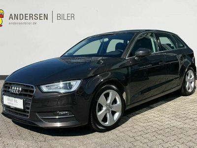 brugt Audi A3 Sportback 1,4 TFSI Ambition 150HK 5d 6g