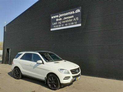 brugt Mercedes ML350 d 3,0 Bluetec 4x4 258HK Van 7g Aut. 2015