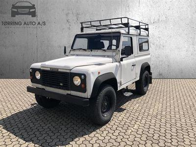 brugt Land Rover Defender 90 TDi Pick-up 112HK Pick-Up - Varebil - hvid