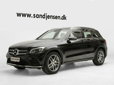 used Mercedes GLC220 d 2,2 AMG Line aut. 4-M