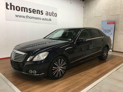 brugt Mercedes E250 2 CDi Elegance aut. BE