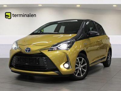 brugt Toyota Yaris 1,5 Hybrid H3 Y20 e-CVT
