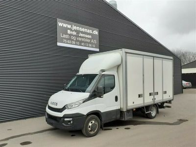 brugt Iveco Daily 35C15 ÅBENBAR SIDE ALUKASSE/LIFT 2,3 D 146HK Ladv./Chas. 2016